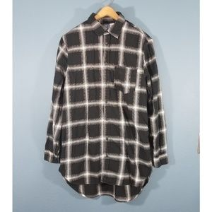 💎3 for 20💎H&M womens tunic button up shirt